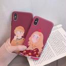 【M114】★ iPhone 6 / 6s / 6Plus / 6sPlus / 7 / 7Plus / 8 / 8Plus / X/XS ★ シェルカバー ケース Apple Girl
