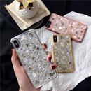 【M710】★ iPhone 6 / 6s / 6Plus / 6sPlus / 7 / 7Plus / 8 / 8Plus / X ★ シェルカバーケース Glitterおしゃれ
