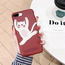 【M211】★ iPhone 6 / 6sPlus / 7 / 7Plus / 8 / 8Plus / X / Xs  ★ シェルカバー ケース Dacing Cat