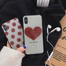 【N145】★ iPhone 6 / 6sPlus / 7 / 7Plus / 8 / 8Plus / X /XS /XR/Xs max★ シェルカバーケース ドッド ハート