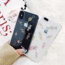 【M390】 ★ iPhone 6 / 6s /6Plus / 6sPlus / 7 / 7Plus / 8 / 8Plus / X ★ シェルカバー ケース Candy クリア 可愛い