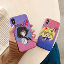 【M137】★ iPhone 6 6sPlus / 7 / 7Plus / 8 / 8Plus / X /XS/XR/XSMAX ★ シェルカバーケース Moon Girl
