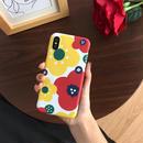 【M715】★ iPhone 6 / 6s / 6Plus / 6sPlus / 7 / 7Plus / 8 / 8Plus / X ★ シェルカバー ケース きれいな花