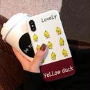 【M218】★ iPhone 6 / 6sPlus / 7 / 7Plus / 8 / 8Plus / X / Xs  ★ シェルカバー ケース lovely duck