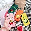 【M577】★ iPhone 6 / 6s / 6Plus / 6sPlus / 7 / 7Plus / 8 / 8Plus / X ★ シェルカバーケース PC ハード 果物