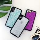 【M873】★ iPhone 6 / 6s / 6Plus / 6sPlus / 7 / 7Plus / 8 / 8Plus / X ★ シェルカバーケース Glitter cover 可愛い