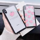 【M510】♡ iPhone 6 / 6s /6Plus / 6sPlus / 7 / 7Plus / 8 / 8Plus / X ♡ シェルカバー ケース ピンク ピーチ 可愛い