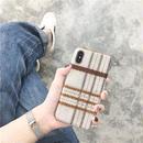 【M908】★ iPhone 6 / 6s / 6Plus / 6sPlus / 7 / 7Plus / 8 / 8Plus / X ★ シェルカバーケース チェック柄