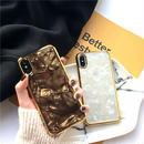 【M507】♡ iPhone 6 / 6s /6Plus / 6sPlus / 7 / 7Plus / 8 / 8Plus / X ♡ シェルカバー ケース GOLDEN case おしゃれ