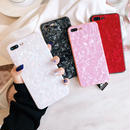 【M439】★ iPhone 6s / 6Plus / 6sPlus / 7 / 7Plus / 8 / 8Plus / X★ シェルカバー ケース 貝殻 全4色 お洒落  iPhone ケース
