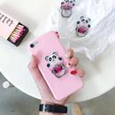 【MS004】♡ バンカーリング ♡ Lovely Heart Panda