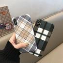 【M224】★ iPhone 6s / 6sPlus / 7 / 7Plus / 8 / 8Plus / X / Xs / Xr /Xsmax★ シェルカバーケース チェック