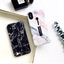 【M319】★ iPhone6 / 6Plus / 6s / 6sPlus / 7 / 7Plus ★ Marble iPhone Case マーブル模様のiPhoneケースホルダーリング
