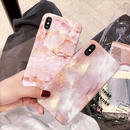 【M378】★ iPhone6 / 6Plus / 6s / 6sPlus / 7 / 7Plus / 8/ 8plus / X ★ Marble ピンク 大理石 マーブル iPhoneケース