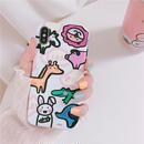 【M848】★ iPhone 6 / 6s / 6Plus / 6sPlus / 7 / 7Plus / 8 / 8Plus / X ★ シェルカバー ケース cute animals