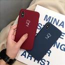 【M131】★ iPhone 6 / 6sPlus / 7 / 7Plus / 8 / 8Plus / X/XS / Xr /Xsmax ★ シェルカバー ケース heart to heart