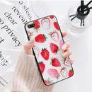 【M351】★ iPhone 6/6s/6Plus/6sPlus/7/7Plus/8/ 8Plus / X ★ Strawberry iPhone Case ケース イチゴ 可愛い