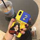 【M387】★ iPhone 6 / 6s / 6Plus / 6sPlus / 7 / 7Plus / 8 / 8Plus / X ★ シェルカバー ケース I MISS YOU Girl