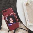 【M359】★ iPhone 6/6s/6Plus/6sPlus/7/7Plus/8/8Plus /X ★ iPhone Case ケース Who Am I お洒落 個性的