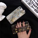 【M611】★ iPhone 6 / 6s / 6Plus / 6sPlus / 7 / 7Plus / 8 / 8Plus / X ★ シェルカバーケース  Strap Golden Case