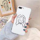 【M876】★ iPhone 6 / 6s / 6Plus / 6sPlus / 7 / 7Plus / 8 / 8Plus / X ★ シェルカバー ケース cute little girl