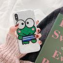 【N104】★ iPhone 6 / 6sPlus / 7 / 7Plus / 8 / 8Plus / X/ XS / Xr /Xsmax ★ シェルカバー ケース Frog Frog