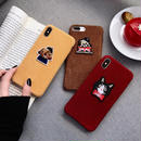 Animal Patch Fabric iPhone case