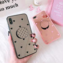 Mirror Hearts with stand iPhone case