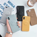 Leather Smile iPhone case