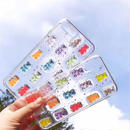 Color Bears Clear iPhone case