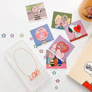 Love Circle Clear iPhone case