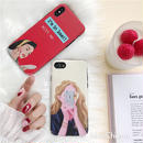 Girls, I'm in love with me iPhone case