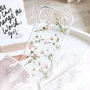 Handmade Dry Flower iPhone case