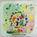 モンゴベス×アルバムえほんコラボ【ガーゼハンカチ】 アニマルリース_MA- 04A
