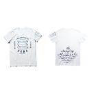 もの凄い鯖(ものすごい鯖)のTシャツ ORGANIC COTTON(ホワイト)