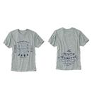 もの凄い鯖のTシャツ ORGANIC COTTON (グレイ)