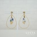 【LUCIA】しずくピアス【06RSP-2】