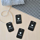 mini tag & wrapping paper
