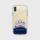 ゴールド【スマホケース】あるぱかイズムC_iPhoneミラーケース