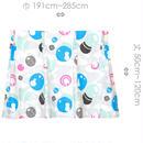 """【MoRi MoRi CURTAIN】 オーダーカーテン:"""" 水玉 """" 巾191cm~285cm・丈 50cm~120cm"""
