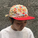 PARK DELICATESSEN FLORAL 2 TONE CAP FLORAL / RED BILL