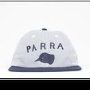 BY PARRA  6 PANEL HAT BEAK KNOB   BLUE OXFORD