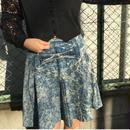 chemicaldenim skirt