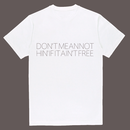 JJ_M white  Cotton T-shirt