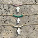 121 marble heishi bracelet