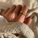 knot ring -gold-