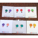 【フラワー mini mini】バイカラー 全6color
