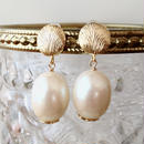 oval pearl pierce PA160106