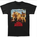 悪魔のいけにえ(TEXAS CHAINSAW MASSACRE)肉をカミキリ大人Tシャツ男性ショートスリーブCasuaプリント