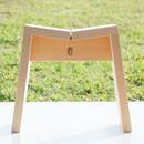 木曽のサワラでつくった風呂椅子